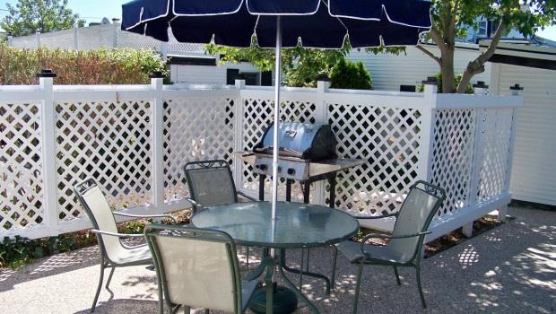 Grilling is a past time at Ebb Tide Cottages - Cape Cod MA