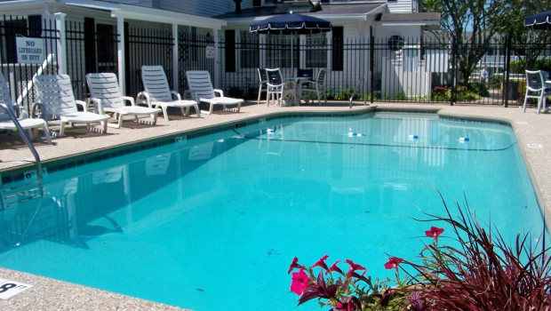 In-ground Swimming Pools is available at Ebb Tide Cottages on Cape Cod MA